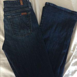 Seven jeans size 27 boot cut